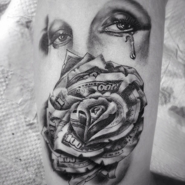 One of todays tats...
