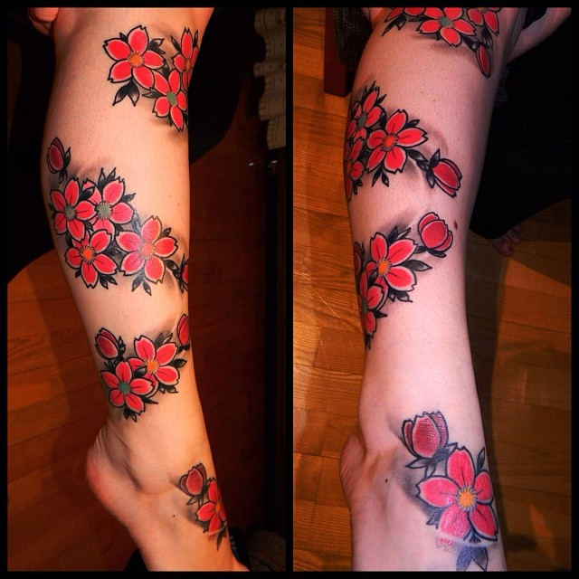 Some Sakura's, my client send me healed pic of those! Thx for that!