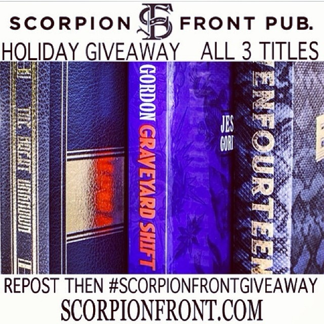 #scorpionfrontgiveaway