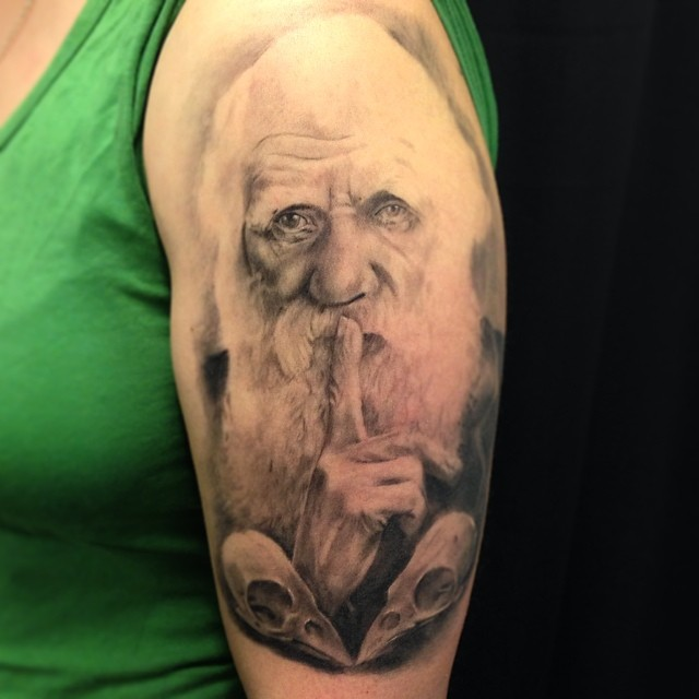 Healed pic of mr. darwin